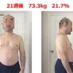 【第21週】40代中年男のメンズボディメイク実践記